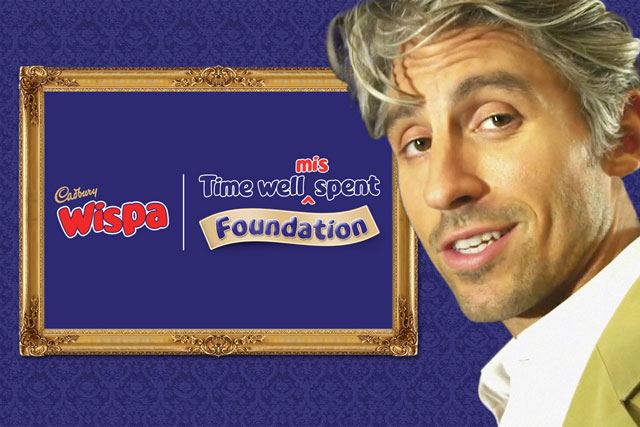 Cadbury Wispa: social media campaign fronted by George Lamb