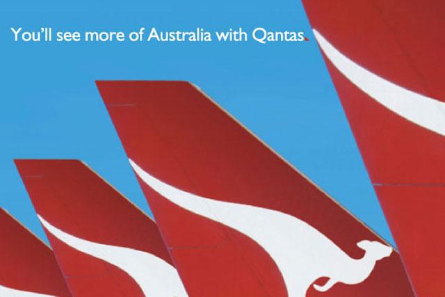 Qantas: gives away 100,000 free flights