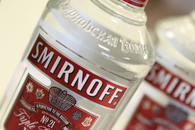 Bacardi, Diageo and Pernod Ricard have all signed up to guidelines