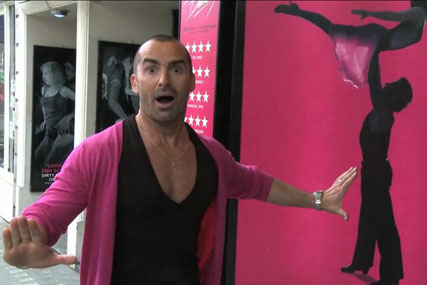 Louis Spence: stars in lastminute.com Louis Spence: stars in lastminute.com viral video