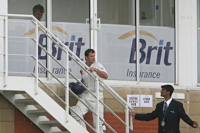 England cricket team: parts company with sponsor Brit