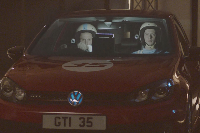 VW: celebrating 35th anniversary of Golf GTi