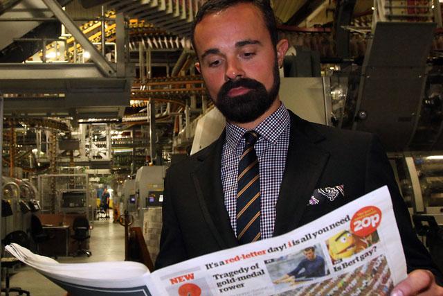 Evgeny Lebedev: owner of the i newspaper