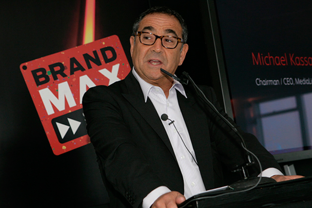 Michael Kassan: chairman and chief executive of MediaLink