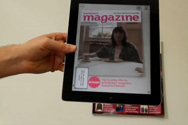 Sainsbury's Magazine: adding video