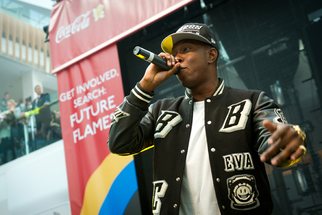 Coca-Cola: Dizzee Rascal is torch bearer campaign ambassador