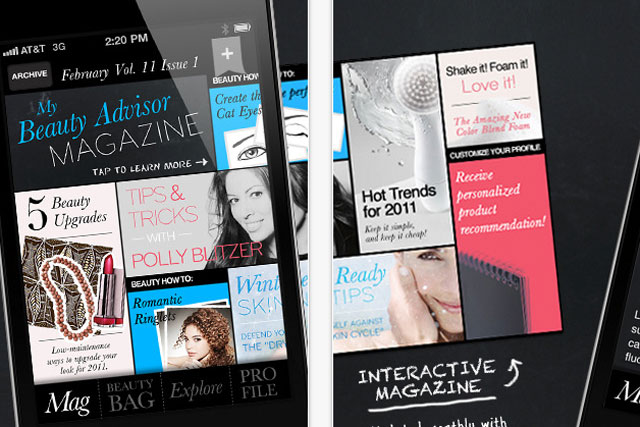 My Beauty Advisor: latest app from P&G brands