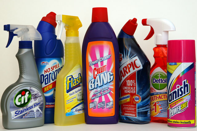 Household cleaners market has grown by 20% over 5 years