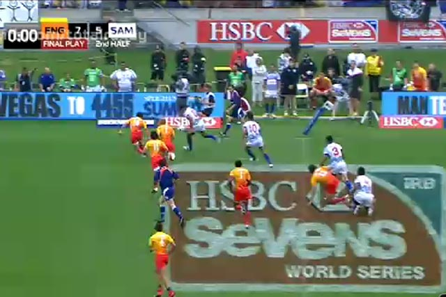 HSBC: targets rugby and golf