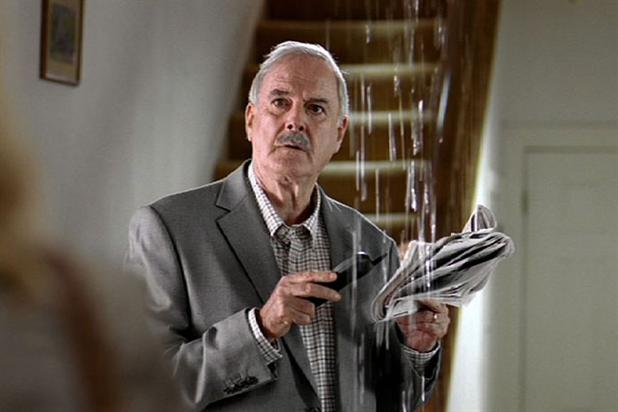 The AA: John Cleese stars in 2010's AA insurance TV campaign