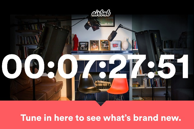 Airbnb: counting down to brand announcement