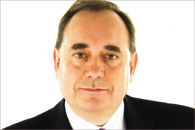 Alex Salmond: first minister of Scotland and leader of the SNP