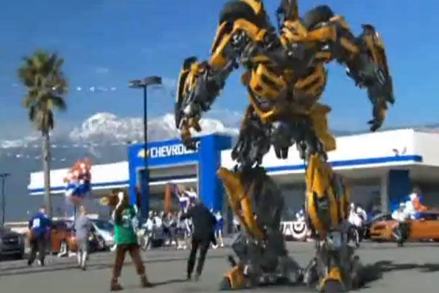 Chevrolet: 2011 Super Bowl 'bumblebee' spot