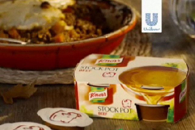 Knorr: Unilever brand identified as one that could benefit from company's latest initiative