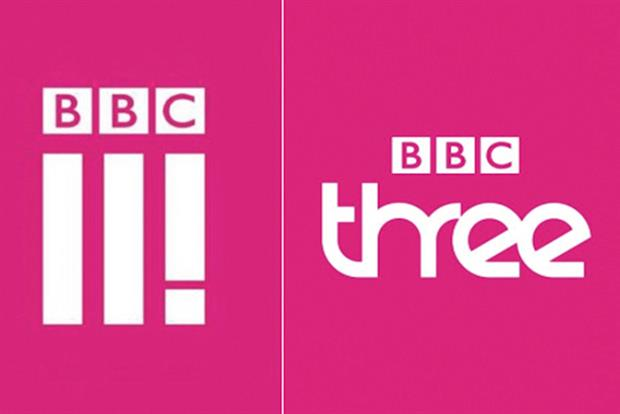 BBC Three: new logo for online life