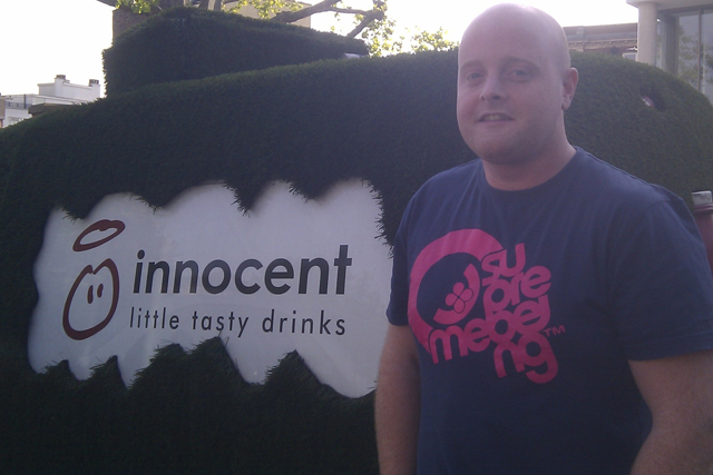 Innocent: marketing executive Iain Leopold