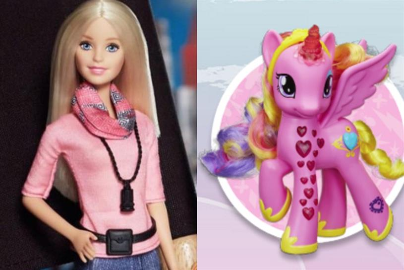 Toy story: Barbie owner Mattel and My Little Pony owner Hasbro in rumoured merger talks