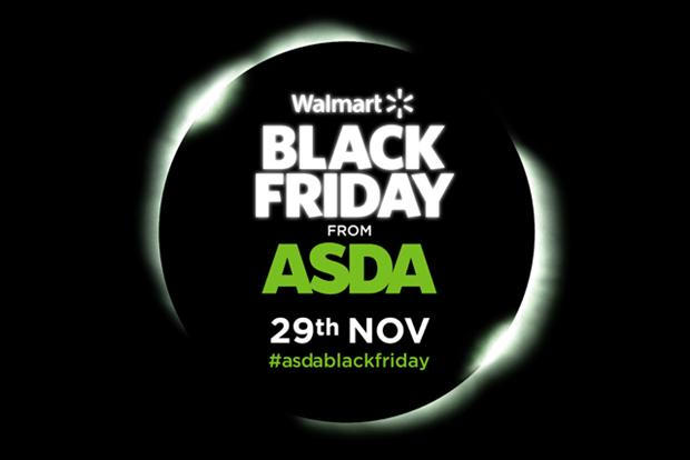 Asda: the Walmart-owned supermarket led the Black Friday charge last year