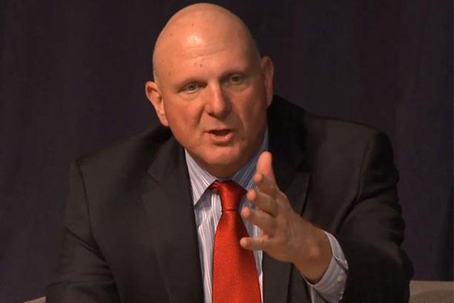 Steve Ballmer: has quit Micrsosoft's board after 34 years at the tech group