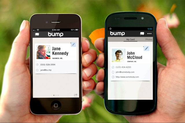 Bump: Bump: Google acquires information-sharing service