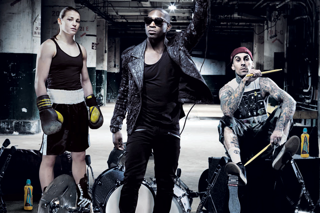 Tinie Tempah: in last year's Lucozade Sport campaign