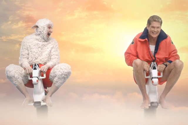 Air New Zealand: 2011 David Hasselhoff campaign