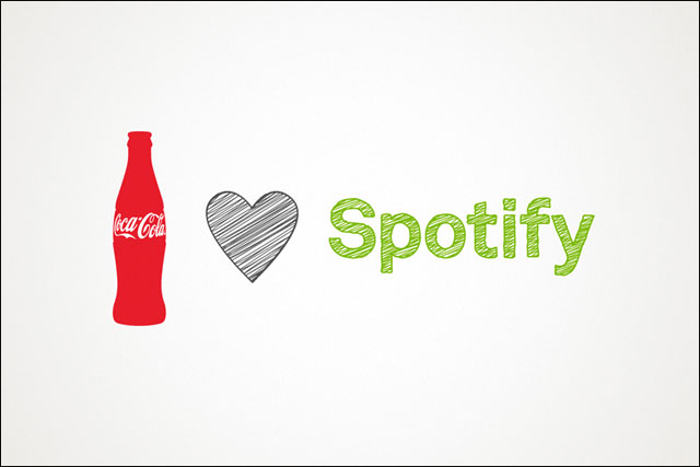 Coca-Cola: strikes global partnership with Spotify