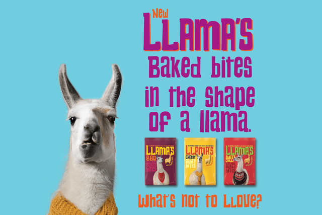 Llama's baked bites: Tesco launches snack range