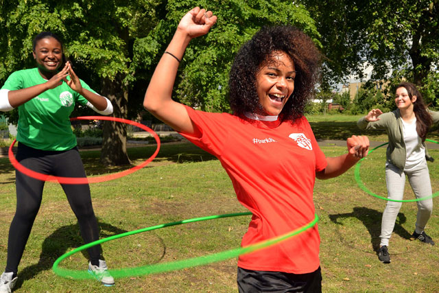 Activity sessions: Coca-Cola Zero ParkLives in action