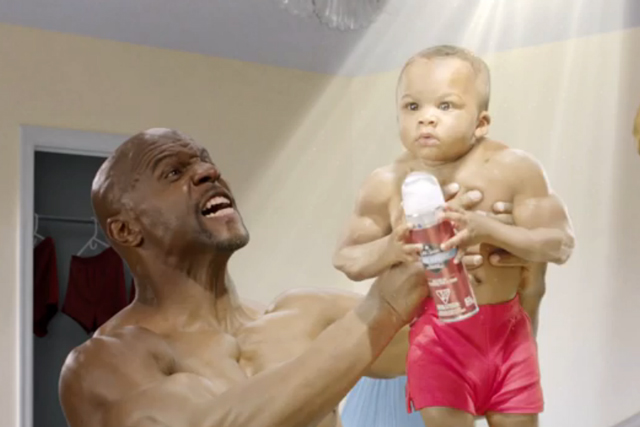 Old Spice: he has a son