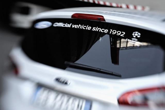Ford: UEFA sponsorship vehicle