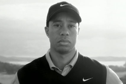 Tiger Woods has returned to Nike's marketing