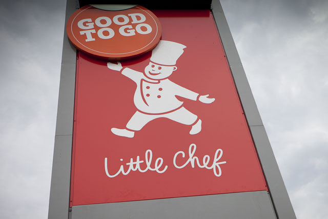 Little Chef: new lower-case lettering for logo