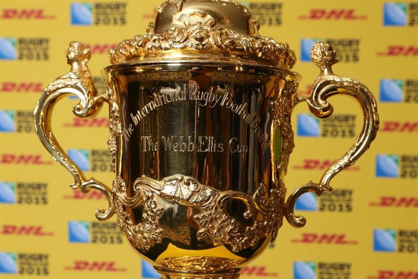 DHL: taking the Webb Ellis Cup on tour this year