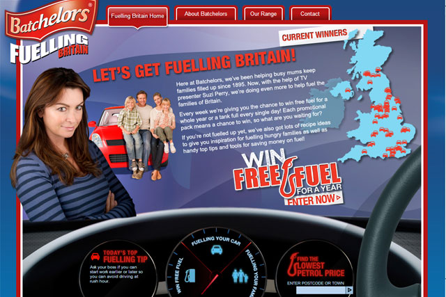 Batchelors: Fuelling Britain campaign helped Premier Foods first-quarter results