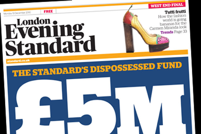 Evening Standard: one of the top media brands of the year