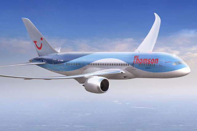 Thomson: kicks off Boeing Dreamliner drive