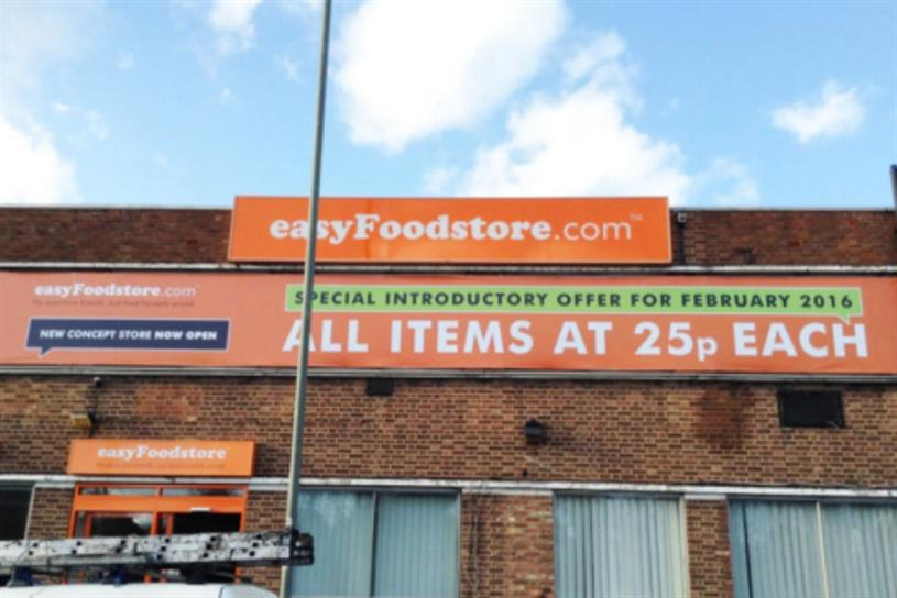 EasyFoodstore.com: closed today due to high demand