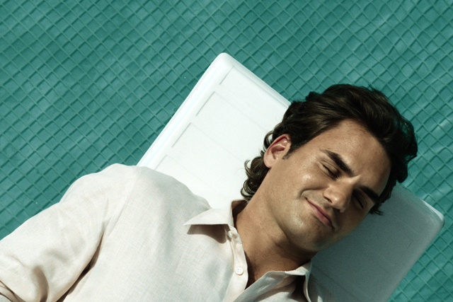 Roger Federer: appeared in ads for Credit Suisse