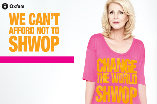 Joann Lumley: backs the M&S shwop campaign