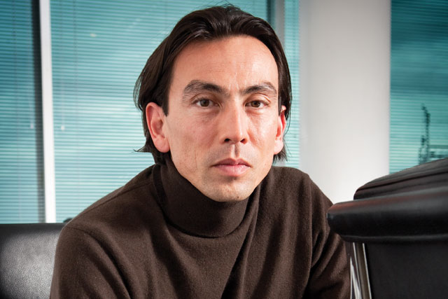 Jason Gissing: Ocado co-founder to retire from the company in May (photo credit: Colin Stout)