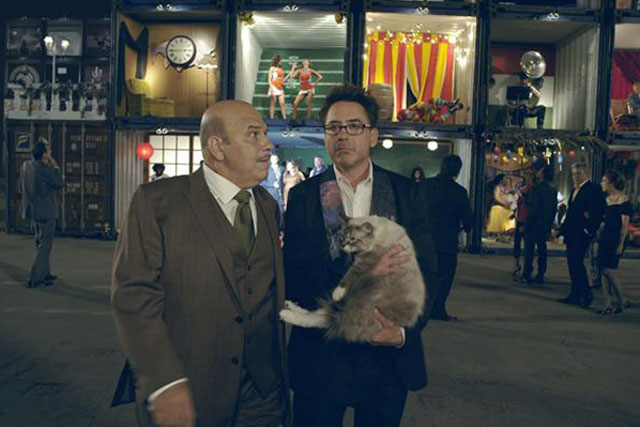 HTC: Robert Downey Jr was the star of last year's global campaign