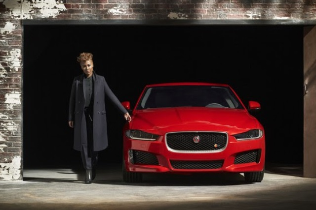 Emeli Sande: in the seat to launch Jaguar XE