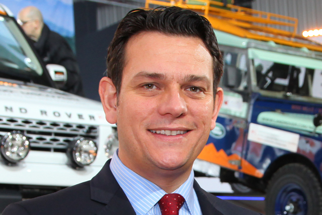 Land Rover global brand experience director Mark Cameron