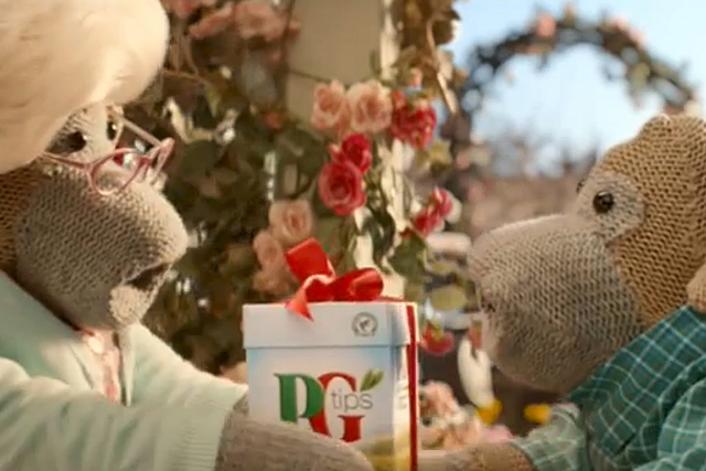 PG Tips Monkey starred in the most-liked TV ad campaign of 2013