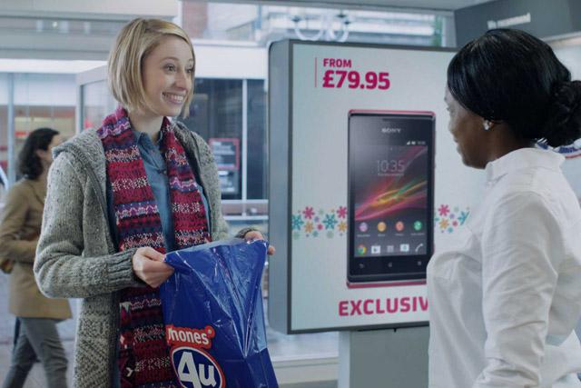 Phones4U: unveils Christmas TV ad