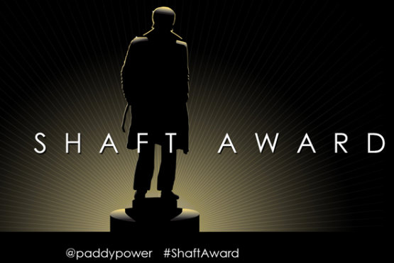 Paddy Power: unveiled a 'Shaft award' in response to the #OscarsSoWhite row