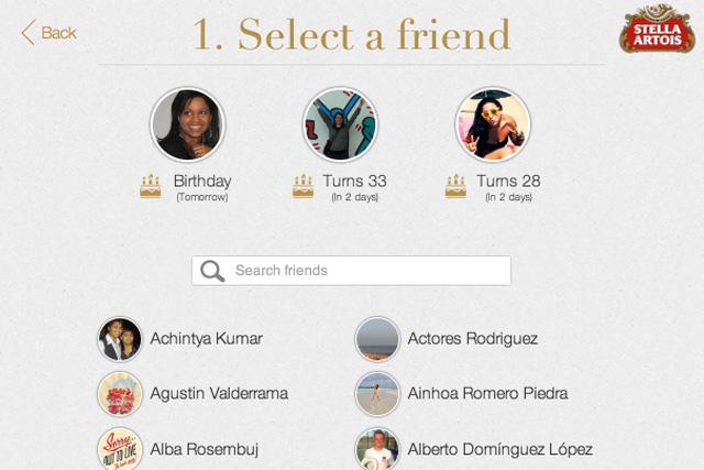 Stella Artois: launches gifting app