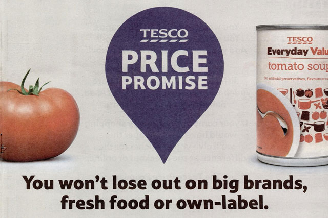 Tesco: ASA says retailer's Price Promise comparisons are justified
