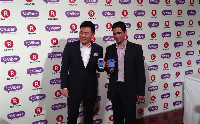Rakuten: e-commerce company buys Viber